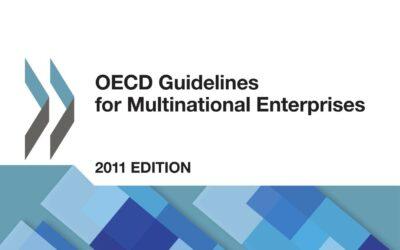 OECD Guidelines for Multinational Enterprises – Translations