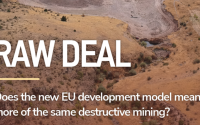 Report: EU push for metals mining is a raw deal for people and environment